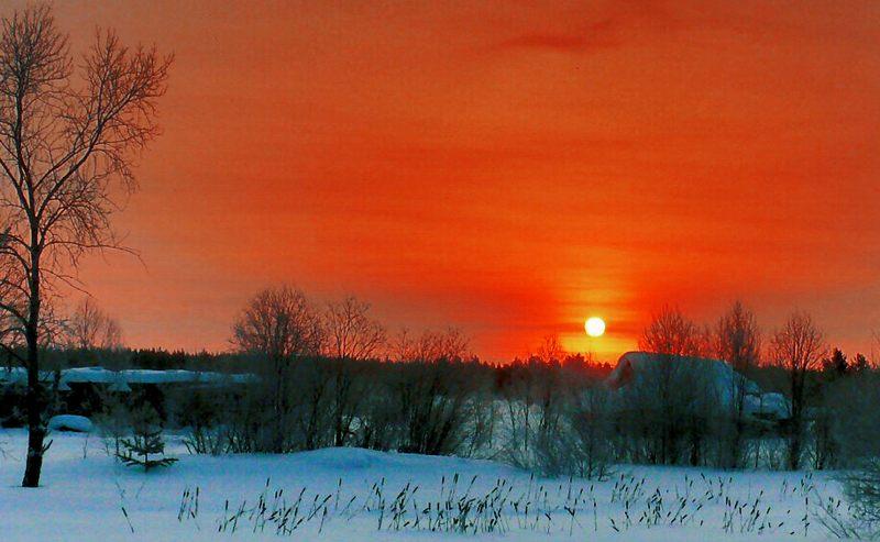 Россия явления природы восход