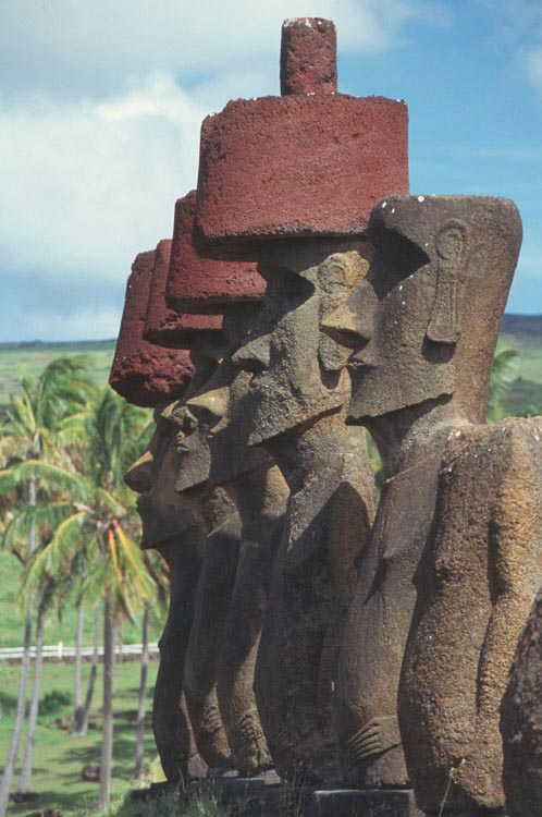 Статуя острова пасхи своими руками 38