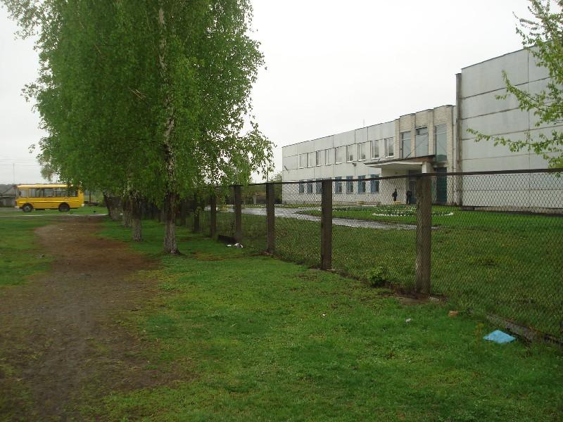 Пришкольная территория и школьный