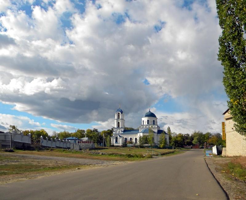 Россия достопримечательности и города Церковь Иоанна Воина в городе Богучар